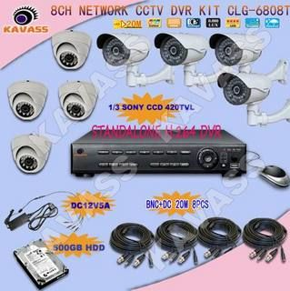 8CH CCTV Surveillance Camera http://minivideocam.com/wireless-camera-system-and-safety/