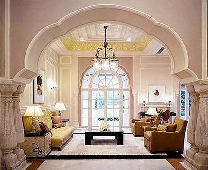 Transitional Indian interior