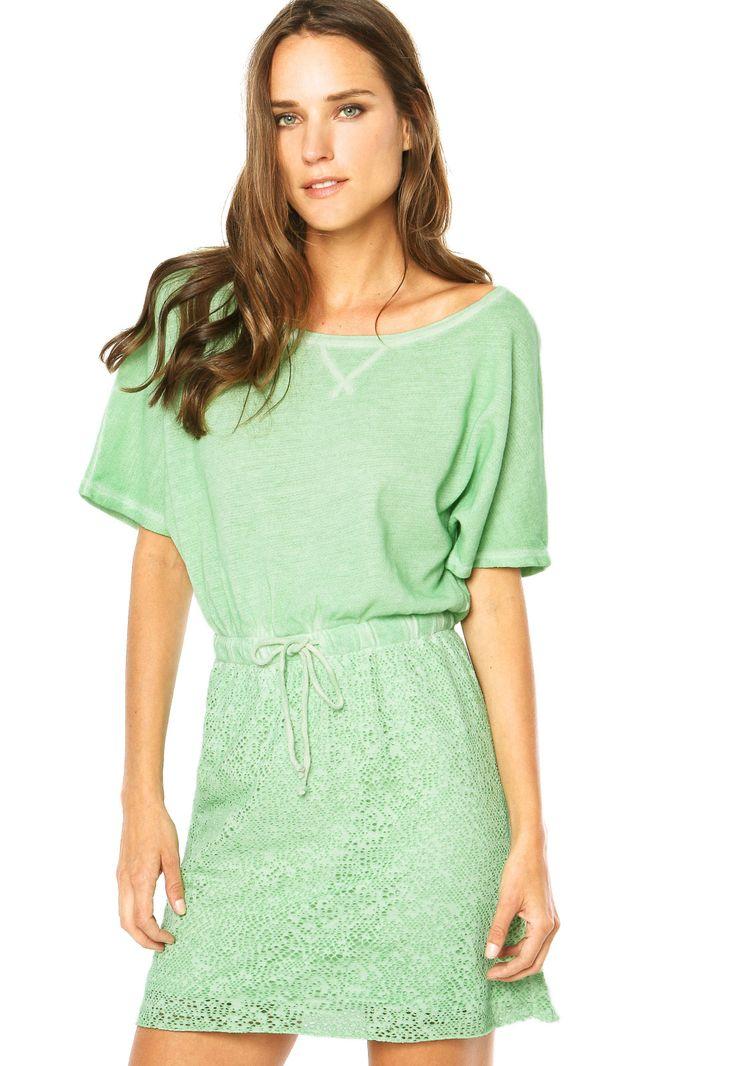 Vestido Cantão Verde - Compre Agora | Dafiti Brasil