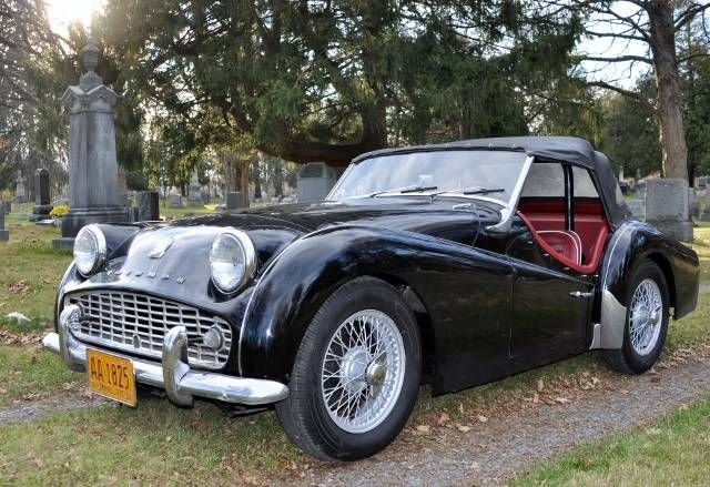 1958 Triumph TR3A for sale #2036452 - Hemmings Motor News