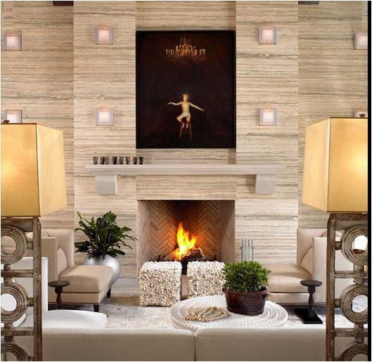 16 best images about fireplace decoration with high High ceiling wall decor ideas