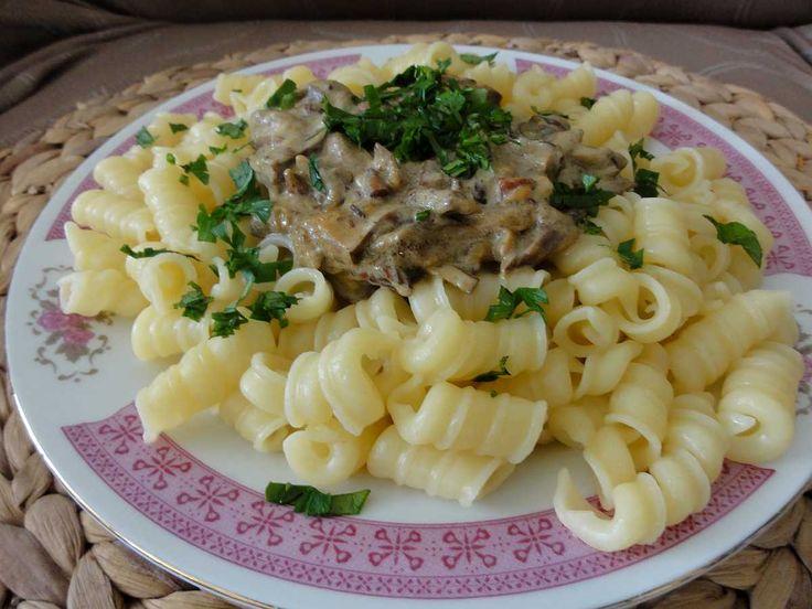 Jak uvařit těstoviny s lesními houbami | recept
