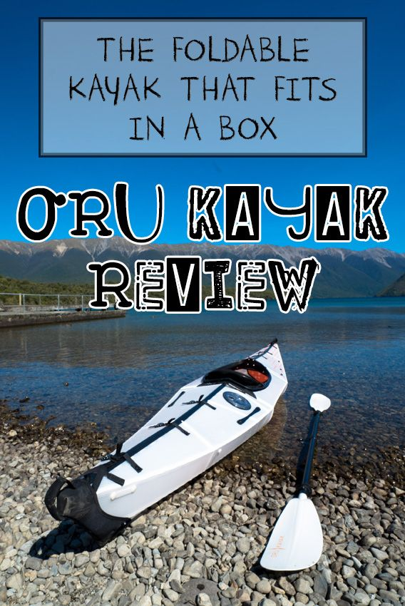 The Bay+ by Oru Kayak is a collapsible kayak that folds down into a box and can be thrown in the backseat of your car. Check out my full Oru Kayak Review and my timelapse video of how it works