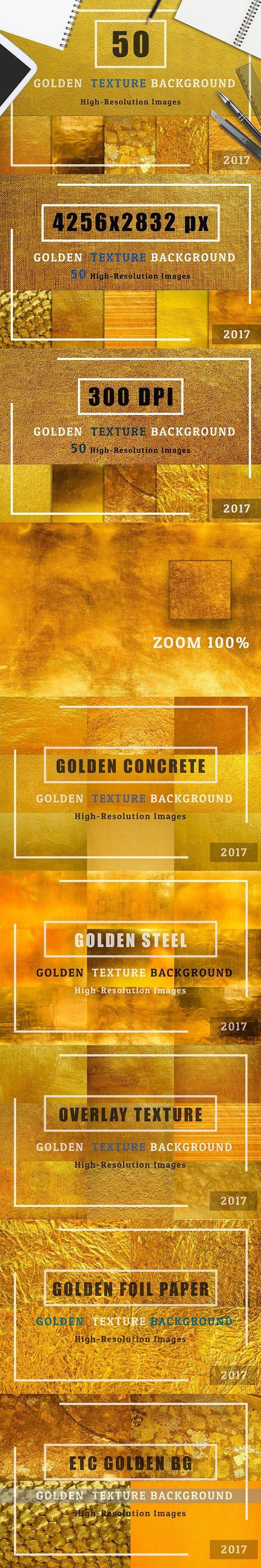 Golden Texture Background Set1. Best Textures