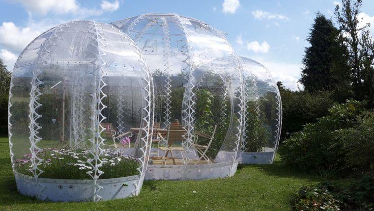 The Invisible Garden House