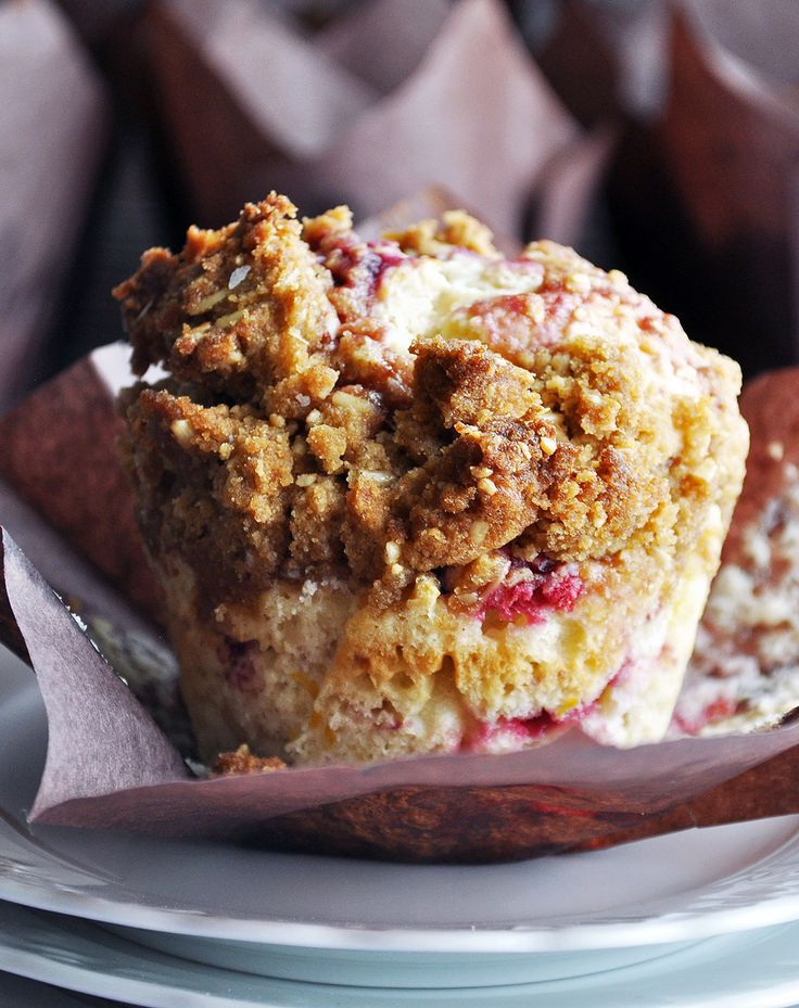 Mixed Berry Muffin Recipe. Moist and tender muffins, packed with berries and topped with buttery brown sugar streusel.