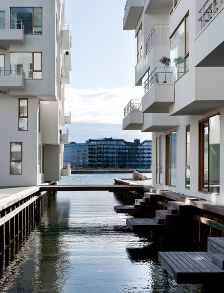 """The residential area """"Havneholmen"""" (The Harbour Isle) in #Copenhagen. Photo by…"""