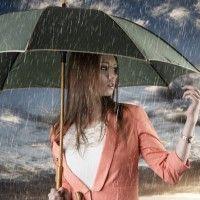 Картинки, аватары, фото #картинки#фото#девушка#дождь#зонт#под_зонтом#под_дождем