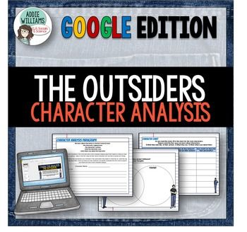 an analysis of the characters of the book the outsiders by s e hintonl Detailed analysis of characters in s e hinton's the outsiders  of the story,  ponyboy curtis is the most complex character in the book.