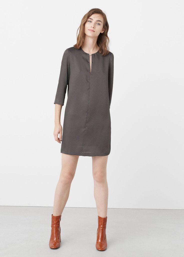 Wzorzysta sukienka | MANGO