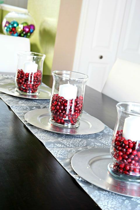 33 Eye-Catching Centerpieces for Christmas