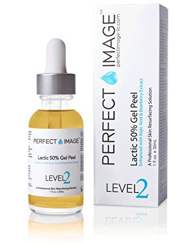 Lactic Acid 50% Gel Peel 1 oz - Enhanced with Kojic Acid & Bearberry Extract (Professional Chemical Peel)