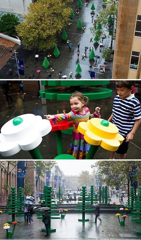 Life-sized LEGO Forest #TicketsandTours https://au.pinterest.com/pin/383791199475785183/