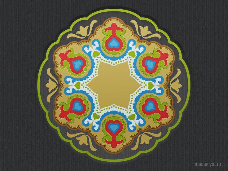 татарские узоры