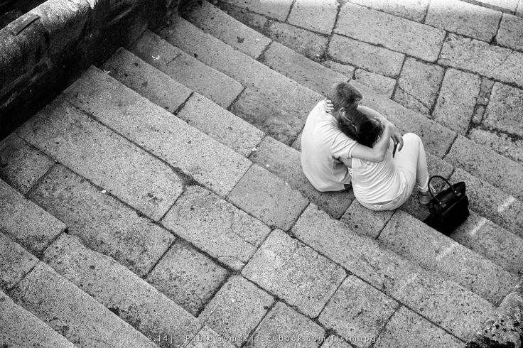 """Love is in the stairs"" [2014 - Porto / Oporto - Portugal] #fotografia #fotografias #photography #foto #fotos #photo #photos #local #locais #locals #europa #europe #pessoa #pessoas #persona #personas #people #cidade #cidades #ciudad #ciudades #city #cities #street #streetview @Visit Portugal @ePortugal @WeBook Porto @OPORTO COOL @Oporto Lobers"