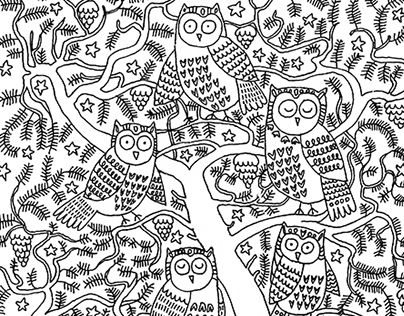 "Check out new work on my @Behance portfolio: ""The Owls"" http://be.net/gallery/32595585/The-Owls Welcome www.facebook.com/clubdaryagulbina       instagram.com/daryagulbina       vk.com/clubdaryagulbina"