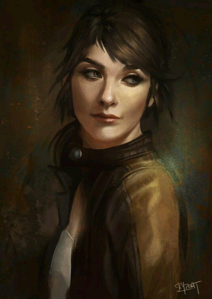 Modern Character Inspiration Art
