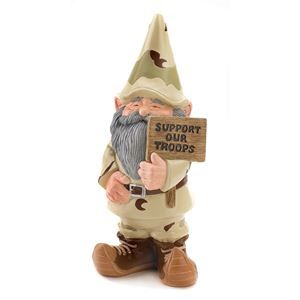 Support Our Troops Garden Gnome 20% off all Gardening and Outdoor items!  http://www.dealbubbleinc.com/support-our-troops-garden-gnome  #dealbubble #dealbubbleInc #deals #onlinedeals #onlineshopping #freeshipping #save #pay4less #payforless #shopping #discount #awesomedeal #awesomedeals #greatdeal #greatdeals #garden #gardening #spring #springtime #supportourtroops