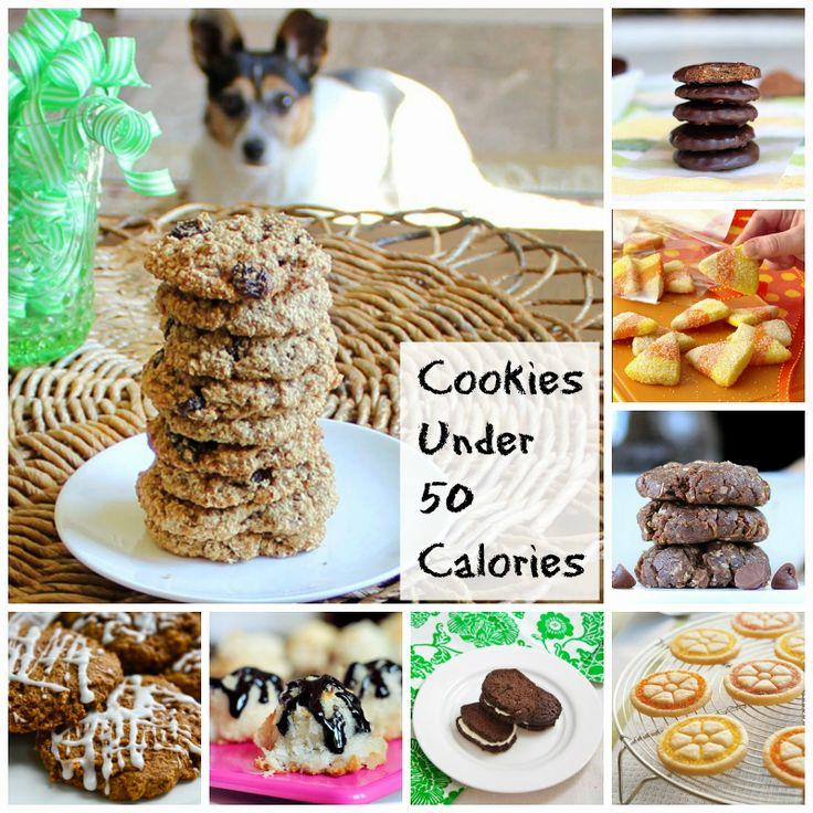25 Cookies Under 50 Calories | Becky Cooks Lightly #Cookies #50Calories