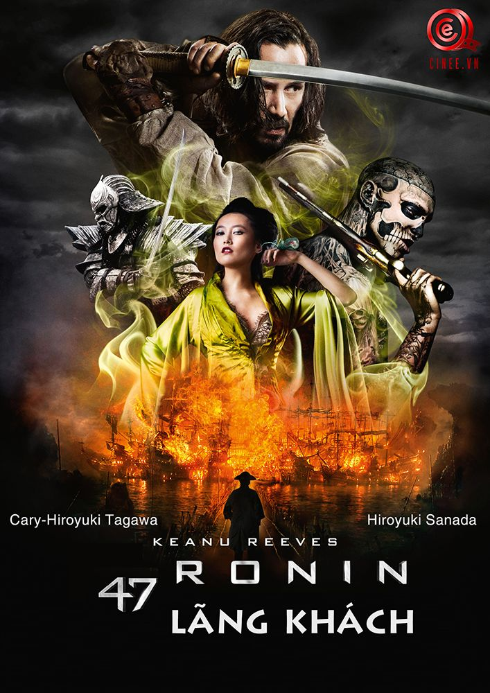 Chép phim HD 47 Ronin - 47 Lãng Khách tại www.cinee.vn
