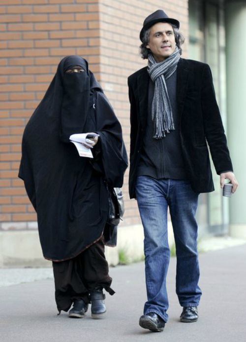 """This is Rachid Nekkaz, the French businessman who announced he will pay all fines for women who are charged with wearing the niqab — not just in France but """"in whatever country in the world that bans women from doing so"""".Theniqab is a filmy cloth attached to the headscarf that covers all but the eyes. Any woman found to be wearing the niqab in France in public can be fined upto€150 (200 dollars) and ordered to attend 're-education classes'."""