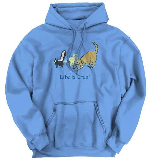 Skunk Spray Dog Hoodie