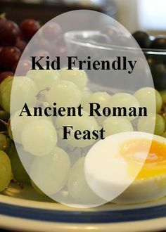 H is for Honey Dates, Gustatio, and Bread! An Ancient Roman Feast for Kids! - To the Moon and Back