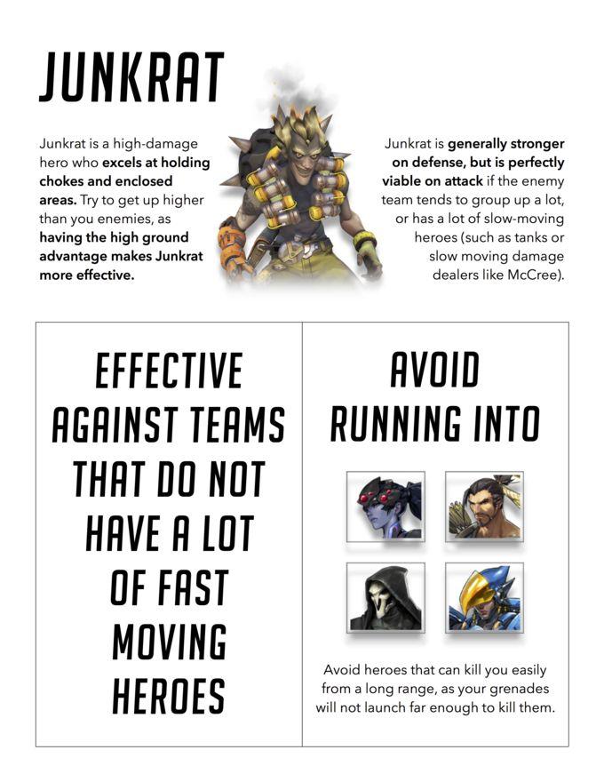 Junkrat Bio #overwatch #gaming