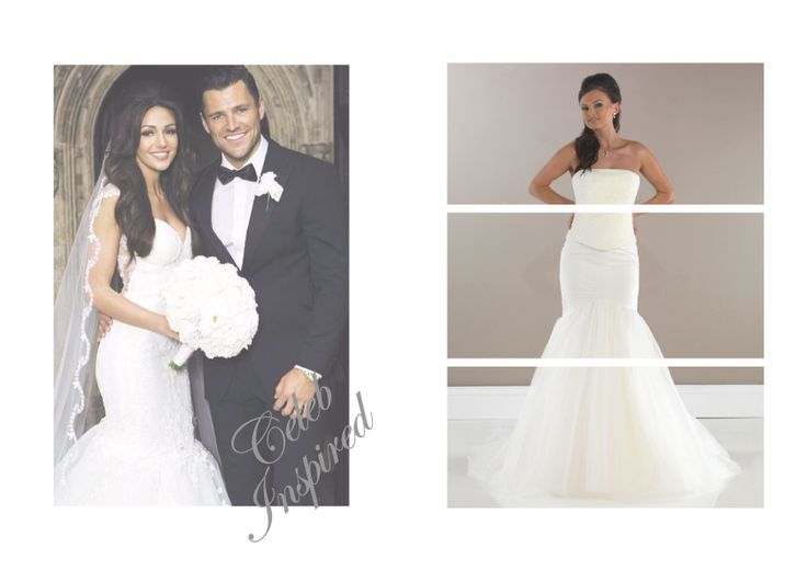 Get Michelle Keegan's Wedding Style with our Mermaid Skirt