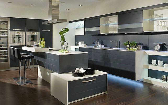 gambar kitchen set modern