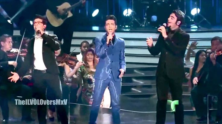 El triste - IL VOLO (Premios Billboard 2013)