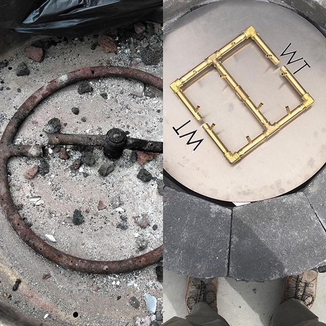Unlike Stainless Steel Ring Burners The Crossfire Brass Burner Is Corrosion Resistant And Wont Rust Out Montan Stainless Steel Rings Cool Fire Pits Burners
