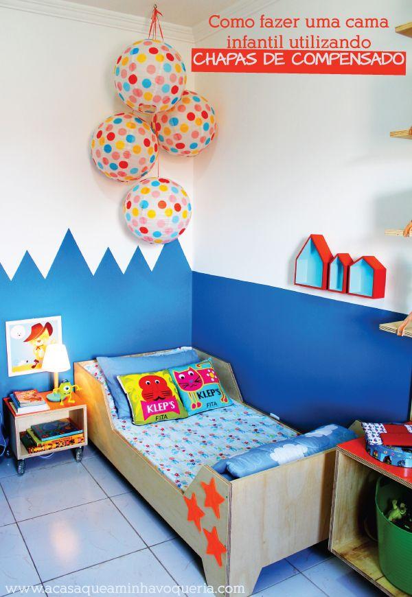 Transforlar: Como fazer uma cama infantil com chapas de compensado