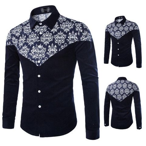 Urban Men Style Printed Shirt – Sneak Outfitters