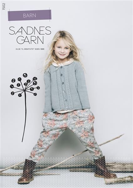 1502 Barn #SandnesGarn