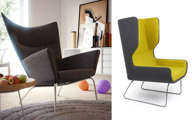 M s de 25 ideas incre bles sobre sillones orejeros en for Sillones para oficina modernos