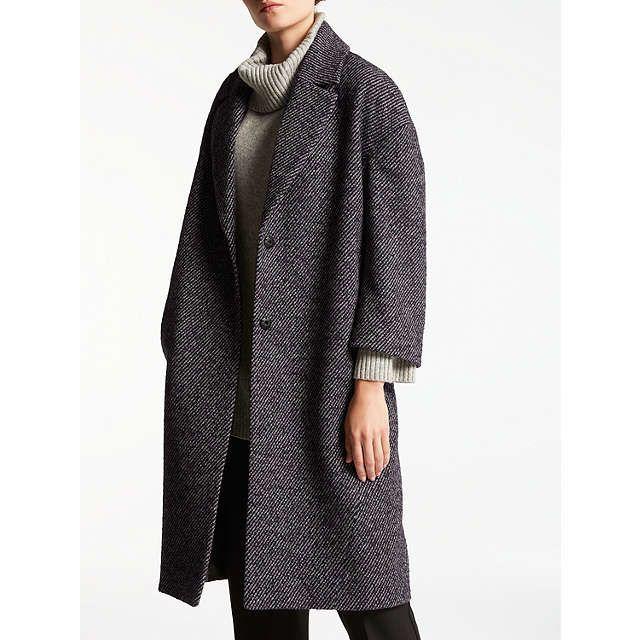 BuyKin by John Lewis Cocoon Coat, Red, 8 Online at johnlewis.com