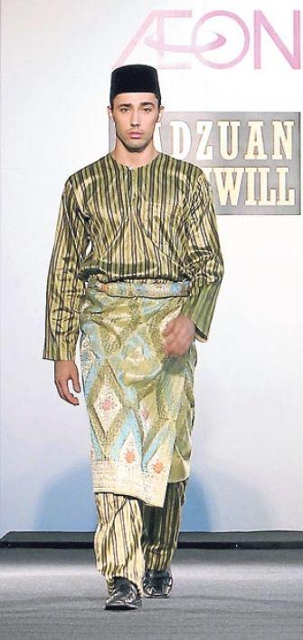 Baju Melayu Teluk Belanga - Radzuan radziwill