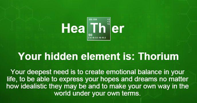 Heather's hidden element