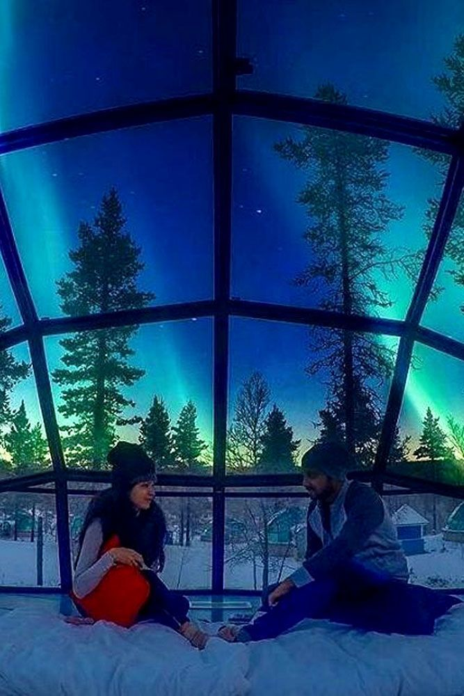 winter honeymoon destinations finland
