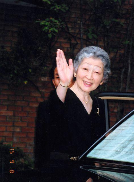 皇后 美智子さま。  2003年9月、東京都内、岡野栄子さん撮影