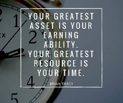 Your greatest asset is your earning ability. Your greatest resource is your time. - Brain Tracy http://www.networkmarketingpaysmebig.com/