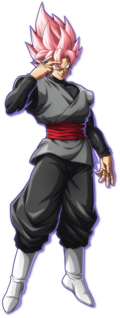 Goku Black Super Saiyan Rose by maxiuchiha22