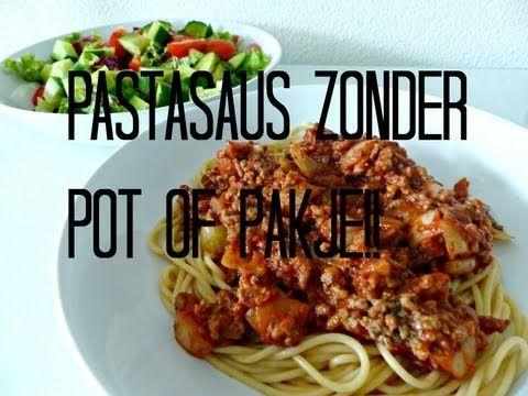Recept: Super simpele pastasaus zonder potje of pakje - Optima Vita
