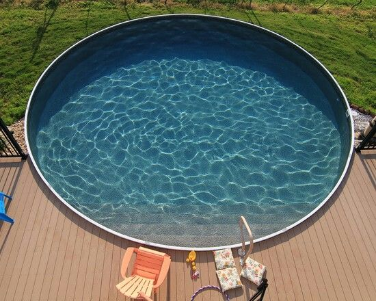 Make an above ground pool look nice garden pinterest - Nice above ground pools ...