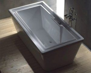 XAVIER EXTRA DEEP OVERFLOWING LARGE FREE STANDING BATHTUB With FAUCET |  Home | Pinterest | Bathtubs, Faucet And Deep Bathtub