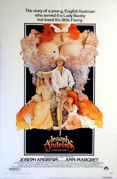 Joseph Andrews. Original 1977  U.S. 27 x 41 Theater Movie Poster. Ann-Margret, Peter Firth, Victorian Sex Comedy. Ted Coconis Art by ArtisticSoulStudio on Etsy
