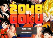 2048 Goku   Juegos dragon ball - jugar online