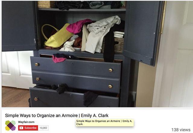 Youtube Organizing Wayfair With Images Organization Bedroom