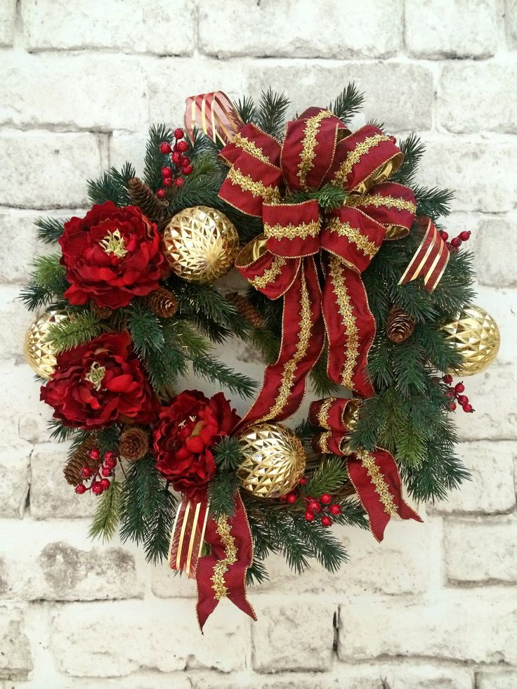 Cordless Christmas Wreaths With Lights
